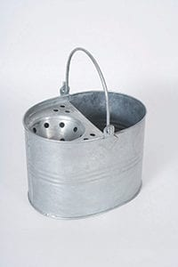 13ltr Galvanised Bucket & Wringer