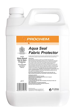 Aqua Seal Fabric Protector