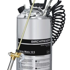 Stainless Steel Pressure Sprayer - 10L