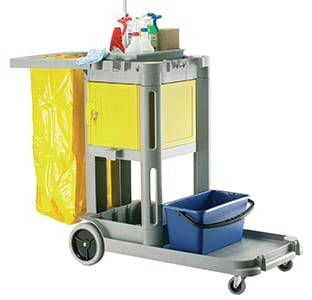 Strutocart 'Carry All' Mobile Cleaners Trolley