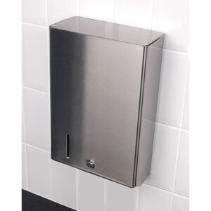 Stainless Steel Hand Towel Dispenser Large