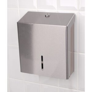 Stainless Steel Hand Towel Dispenser Medium